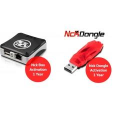 NCK Dongle & NCK Box 1 YEAR Activation